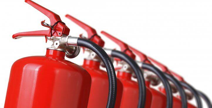 Продажба на Пожарогасители
